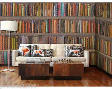 Bookshelf Background Image Bookshelf Wallpaper Ebay