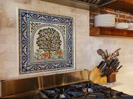 Painting Kitchen Backsplash Kitchen Kitchen White Tiles Backsplash Wall Painting Ceramic Tile
