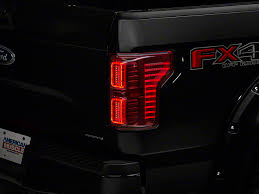 2016 f150 led tail lights raxiom f 150 horizon led tail lights clear red t528736 15 17 f