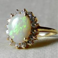 vintage opal engagement rings antique opal ring ideas collections