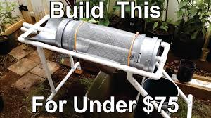 how to build a worm casting compost sifter youtube