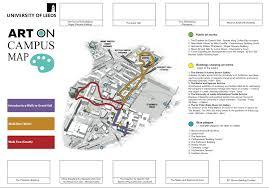 Stevens Campus Map University Of Leeds Campus Culture Trail Map U2014 Migle Migle