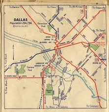 Loyola University Chicago Map by 1940s Dallas Road Map Maps Galore Pinterest