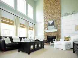best two story stone fireplace nice home design contemporary under