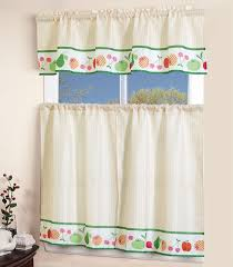 Ideas For Kitchen Curtains by Kitchen 3 Piece Teal Kohls Kitchen Curtains With Diamond Pattern