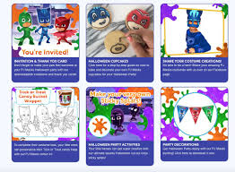 pj mask halloween costumes celebrate halloween with the pj masks
