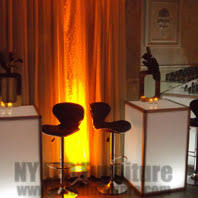 party furniture rental nyc lighted party table rental