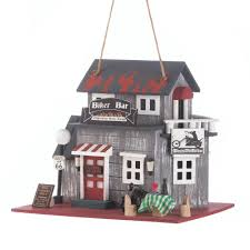 amazon com koehler home decor biker bar birdhouse patio lawn