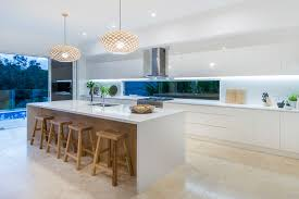 what is the best lighting for a galley kitchen modern galley kitchen design custom home design island