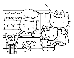 coloriage hello kitty ã imprimer format a4