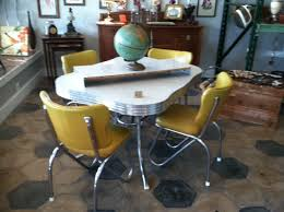 retro kitchen table and chairs set retro dining set yellow gallery dining