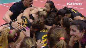 gold medal hair clf4treviso gold medal point for vakifbank youtube