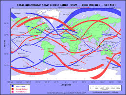 World Atlas Maps by Eclipsewise World Atlas Of Solar Eclipse Paths