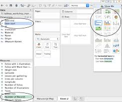 tableau visualization tutorial tutorial visualizing data using tableau 2015 edition kristen mapes
