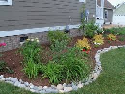 Landscaping Rock Ideas Adding River Rocks To Your Home Design Best Home Design Ideas