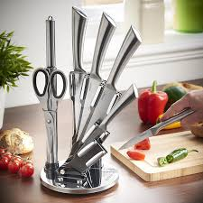 Amazon Knives Kitchen Amazon Com Vonshef 7 Piece Professional Stainless Steel Kitchen