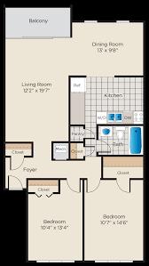 floor plans charter oak apartments reston apartment