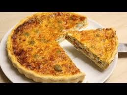hervé cuisine quiche recette de la tarte au thon poivron et herbes par hervé cuisine