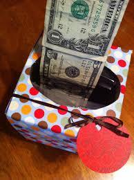 the b day money tissue box tutorial