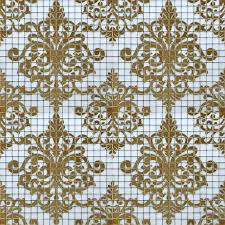glass tile gold mosaic collages design interior wall tile murals