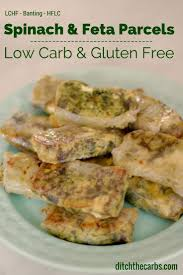 Cold Dinner Low Carb Spinach And Feta Parcels Low Carb And Gluten Free