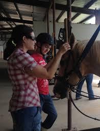 horse riding provides therapeutic respite wwno
