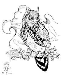 23 best owls tattoo design images on pinterest draw abstract