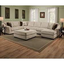large deep sectional sofas simmons upholstery kingsley beige large sectional and ottoman
