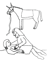 Good Samaritan Coloring Page Bible Story Coloring Page For The Children Bible Stories Coloring Pages