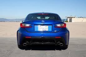 lexus rc f price list 2015 lexus rcf hard rear photo 88924165 automotive com