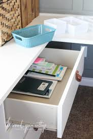 Organizing Desk Drawers How To Organize Desk Drawers The Wood Grain Cottage
