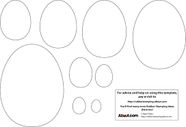 blank easter eggs early play templates simple easter egg templates