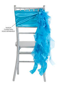 turquoise chair sashes curly willow chair sash aqua new design cv linens
