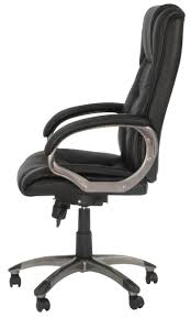 Office Chair Black Leather Friesian High Back Black And White Office Chair Friesian High