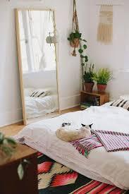 floor plants home decor floor mirror and plants bed on floor homey pinterest plant