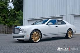 bentley mulsanne with 24in savini diamond prali wheels exclusively