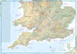 Map England by Maps For Travel City Maps Road Maps Guides Globes Topographic