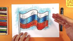 How To Draw A Flag How To Draw A Flag Youtube