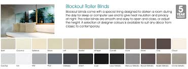 blockout and sunscreen roller blinds for light control