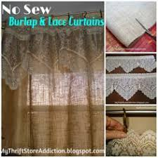 Brown Burlap Curtains Brown Burlap Valance 52 Choose A Length By Madeinburlap On Etsy