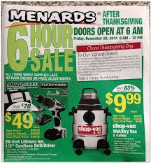 menards 2014 black friday ad black friday archive black friday