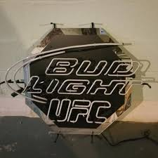 bud light neon signs for sale best bud light ufc neon sign for sale in dekalb county illinois for
