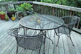 Wire Patio Chairs Wrought Iron Patio Furniture Family Style Living
