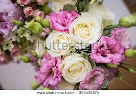 Wedding Flowers Roses Bouquet Roses Freesias Stock Photo 67100449 Shutterstock