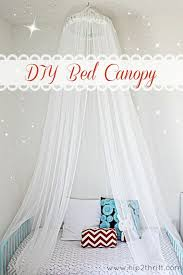 how to make a bed canopy diy bed little princess and easy diy