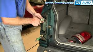 2001 ford f150 tail light assembly how to install replace taillight ford explorer mercury mountaineer