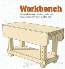 2118 wall mounted workbench plans workshop solutions