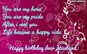 happy birthday wishes for husband quotes images and memes