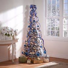 the kinkade pop up 6 foot tree pre decorated