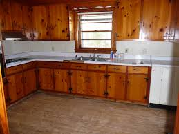 Kitchen Cabinets Pine Stylish 24 Kitchen With Knotty Pine Walls On Knotty Pine Kitchen